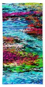 Thought Upon A Stream Beach Towel