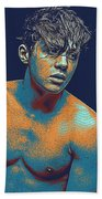 Thoughtful Youth Series 13 Beach Towel
