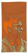 Thoughtful Youth Series 19 Beach Towel