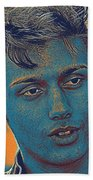 Thoughtful Youth Series 27 Beach Towel