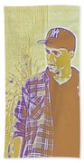 Thoughtful Youth Series 30 Beach Towel
