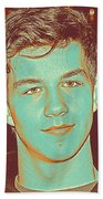 Thoughtful Youth Series 32 Beach Towel