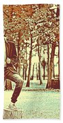 Thoughtful Youth Series 37 Beach Towel