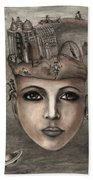 Thoughts Fantasy Beach Towel