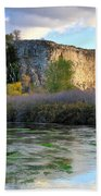 Thousand Springs Idaho Beach Towel