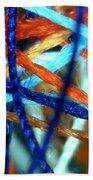 Threads 2 Beach Towel