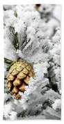 Three Pinecones Beach Towel