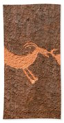 Three Playful Sheep Beach Towel