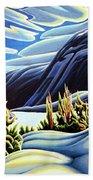 Three Valley Gap Beach Towel