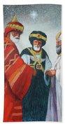 Three Wise Men Beach Sheet