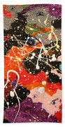 Through The Eyes Of The Universe Beach Towel