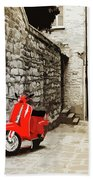 Through The Streets Of Italy - 01 Beach Towel