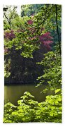 Through The Tree01 Beach Towel