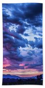 Thunder Storm Beach Towel