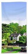 Ticknall Village From Ingleby Lane Beach Towel