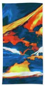 Tidal Forces Beach Towel