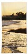 Tidal Sunset Beach Towel