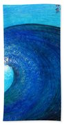 Tidal Wave. Power And Beauty Beach Towel