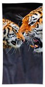 Tiger 05 Beach Towel