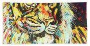 Tiger #2 Beach Towel