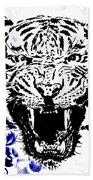 Tiger And Paisley Beach Towel
