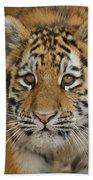 Tiger Cub Beach Towel
