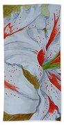 Tiger Lilly Beach Towel
