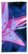Tiger Lily Abstract Beach Towel
