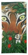 Tiger Prey  Beach Towel