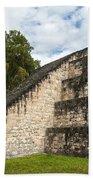 Tikal Mayan Site Guatemala Beach Sheet