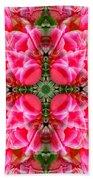 Tiki Tulip Mandala Beach Towel