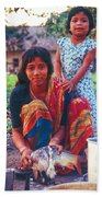Tilak Devi 1995 Beach Towel