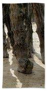 Timber Textures Lll Beach Towel