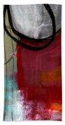 Time Between- Abstract Art Beach Towel