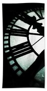 Time - Bromo Seltzer Tower, Baltimore Beach Towel by Marianna Mills