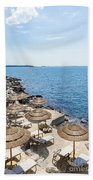 Time For Relaxation Beach Towel
