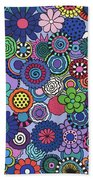 Time To Bloom Beach Towel