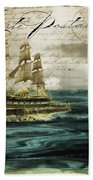 Timeless Voyage Beach Towel