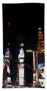 Times Square New York City New Years Eve Beach Sheet