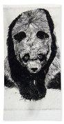 Timido Panda Beach Towel
