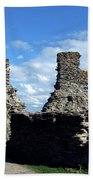 Tintagel Castle 2 Beach Towel