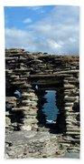 Tintagel Castle 3 Beach Towel