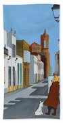 Tintin En Puerto Real Beach Towel