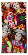 Tiny Chinese Dolls Beach Towel