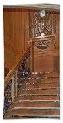 Titanics Grand Staircase Beach Towel