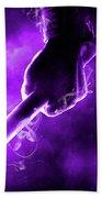 Tmnt 2   -  Donatello Smoky Purple. Beach Towel