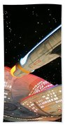 To Boldly Go Beach Towel