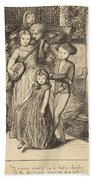 To Caper Nimbly In A Lady's Chamber To The Lascivious Pleasing Of A Lute Beach Towel