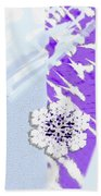 To Save A Snowflake, Portrait Orientation Beach Towel