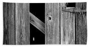 Tobacco Barn Wood Detail Beach Sheet